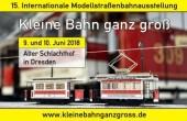 KLEINE BAHN GANZ GROSS